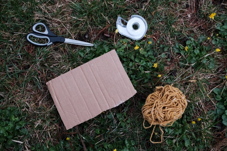 supplies to make nature weave