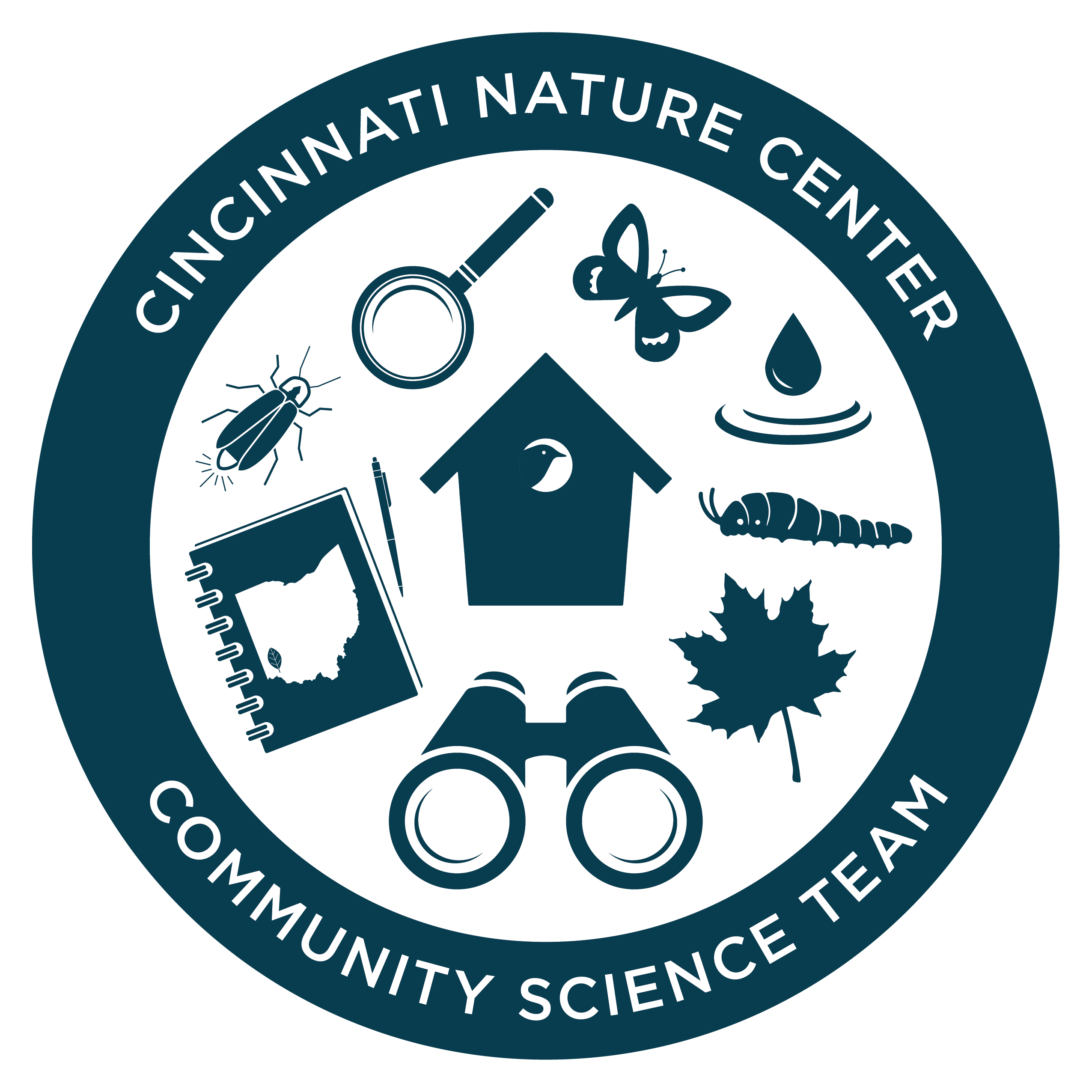 Cincinnati Nature Center Community Science Team Logo