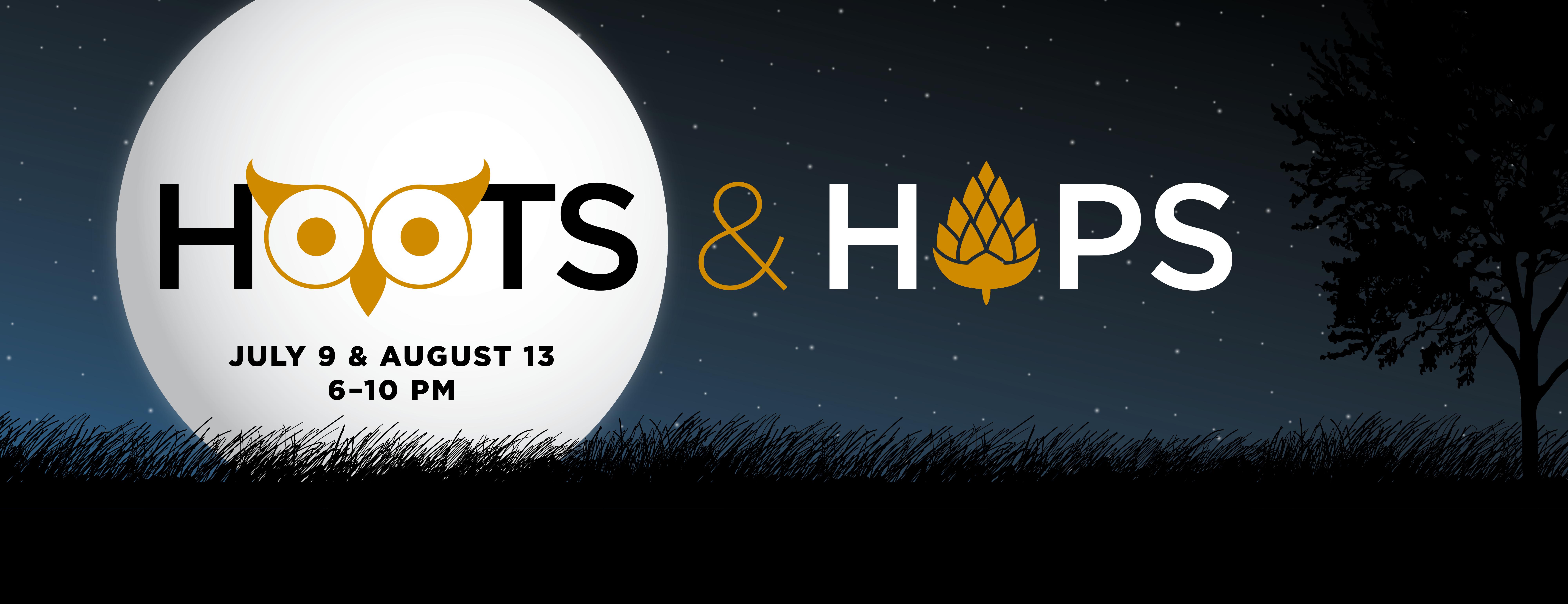 Hoots & Hops Banner